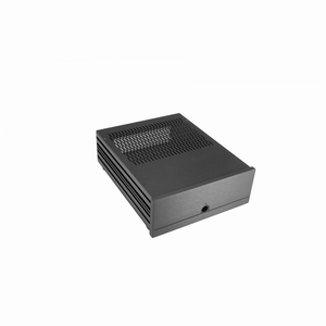 MODU ITX288N, electronics cabinet for HTPC, black<br />Price per piece