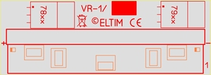 ELTIM VR1-xx module Voltage Regulator<br />Price per piece