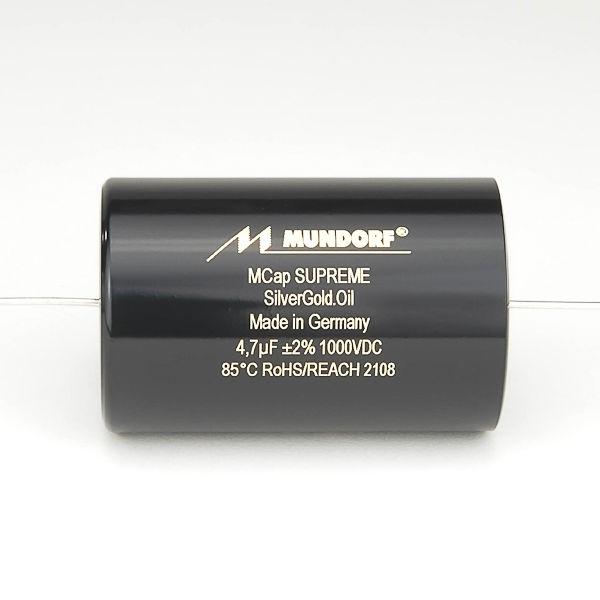 MUNDORF SUP.SGO, 0,33uF/1000V, 3%, Sup. Silver/Gold/Oil Cap<br />Price per piece