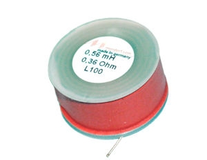 MUNDORF L100, 0,22mH, ±5% Luchtspoel, Ø1,0mm OFC draad<br />Price per piece