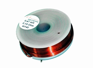 MUNDORF BL140, 0,82mH, ±2%, Air core coil, Ø1,4mm B.OFC  <br />Price per piece