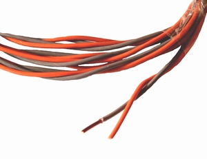 MUNDORF CUW210GY/OG, 2x0,8mm2 OFC Copper wire<br />Price per meter