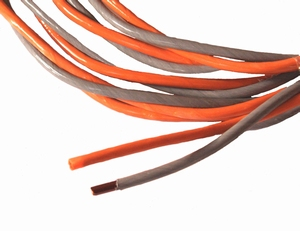 MUNDORF CUW220GY/OG, 2x3,1mm² OFC koperdraad<br />Price per meter