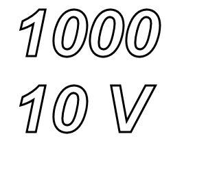 PANASONIC FC,  1000uF/10V Radial electrolytic capacitor