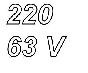 PANASONIC FC,  220uF/63V Radial electrolytic capacitor<br />Price per piece