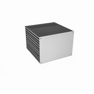 MODU Galaxy Maggiorato 1GX283-4U, Depth 230mm, silver front<br />Price per piece