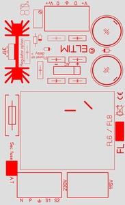 ELTIM PSFL6-8, Single Power supply module, 8V, 6VA