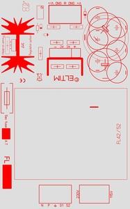 ELTIM PSFL42-8, Single Power supply module, 8V, 42VA