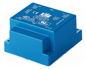 BLOCK FL transformer, PCB mount, 42VA, 2x115>2x12V<br />Price per piece