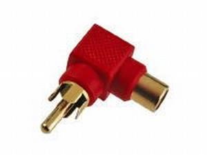 KACSA AA656G  cinch männlich/cinch weiblich adapter<br />Price per piece