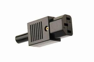 KACSA PC1252G 230V IEC stecker, weiblich<br />Price per piece