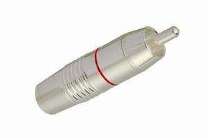 KACSA RP-412ST, Silver plated RCA plug pure silver plated ba