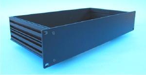 "MODU Slimline series 4mm  19"" aluminium Frontplatte<br />Price per piece"
