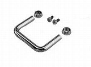 MODU Round handles, 2U, black<br />Price per pair