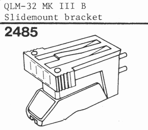A.D.C. QLM 32 MK3 B SLIDEMOUNT, Cartridge
