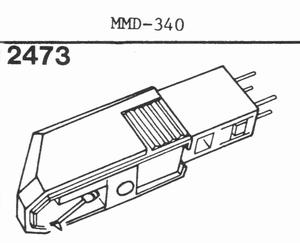 DUAL MMD-340, Cartridge