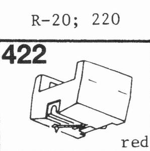 A.D.C. 220, R-20 Stylus, DS