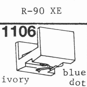 A.D.C. R-90 XE Stylus