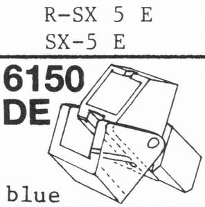 A.D.C. R-PSX 5E BLUE Stylus, DE<br />Price per piece