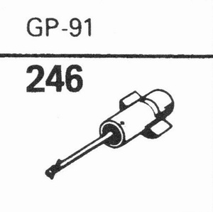 ACOS GP-91 Stylus, SS/DS<br />Price per piece