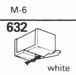 ACOS M-6 WHITE Stylus, DS<br />Price per piece