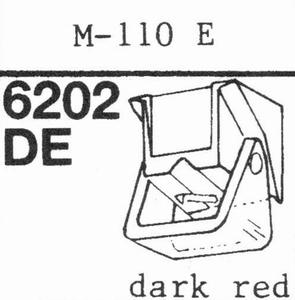 ACUTEX M-110 E DARK RED Stylus, DE-OR