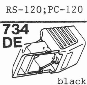 AKAI PC-100, RS-100 Stylus, DE
