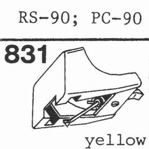 AKAI PC-90, RS-90 Stylus, DS