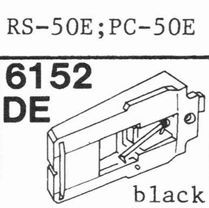 AKAI RS-50 E Stylus, DE-OR<br />Price per piece