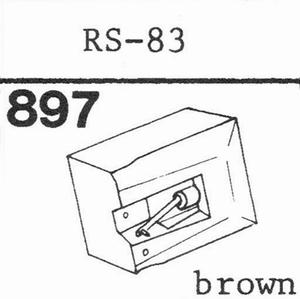 AKAI RS-83 Stylus, DS