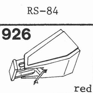 AKAI RS-84 Stylus, DS<br />Price per piece