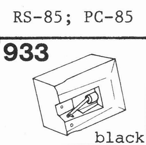 AKAI RS-85; PC-85 Stylus, DS<br />Price per piece