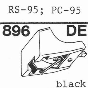 AKAI RS-95, PC-95 Stylus, DE-OR