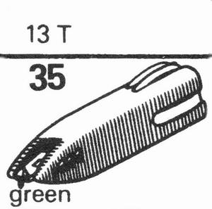ASTATIC 13T, 89 TS, Stylus, SS/SS<br />Price per piece