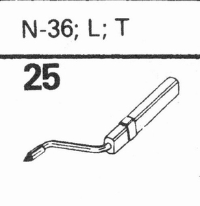 ASTATIC N-36, L, T Stylus, DS<br />Price per piece
