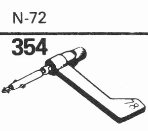 ASTATIC N-72 Stylus, SN/DS<br />Price per piece