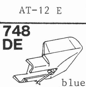AUDIO TECHNICA AT-12 E, ATS-12 Stylus, DE