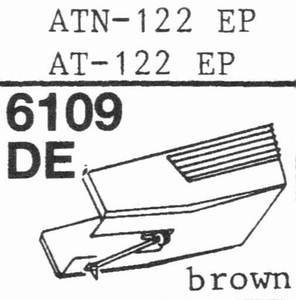 AUDIO TECHNICA ATN-122 EP Stylus, DE
