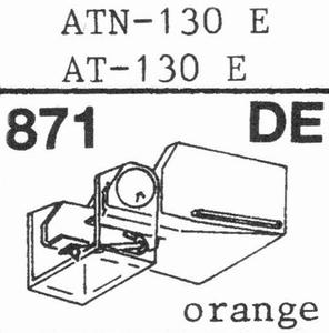 AUDIO TECHNICA ATN-130 E Stylus, DE<br />Price per piece