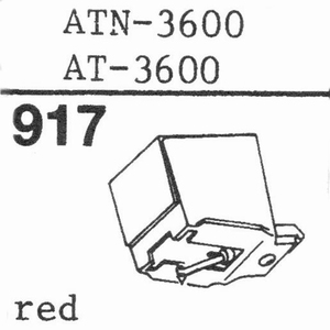AUDIO TECHNICA ATN-3600 RED Stylus, DS