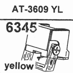 AUDIO TECHNICA ATN-3609 YL Stylus, DS-OR<br />Price per piece