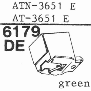 AUDIO TECHNICA ATN-3651 E Stylus, DE