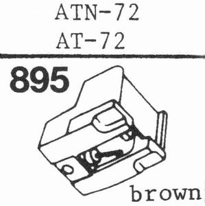 AUDIO TECHNICA ATN-72 Stylus, DS