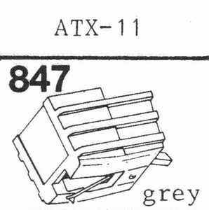 AUDIO TECHNICA ATX-11 Stylus, DS-OR