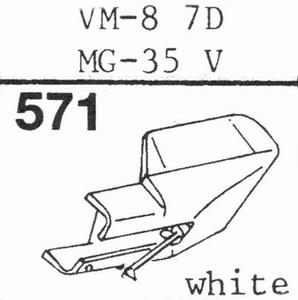 AUDIO TECHNICA VM-8-7 D Stylus, DS