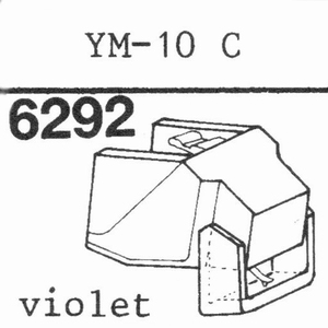AZDEN YM-10 C Stylus, DS-OR<br />Price per piece