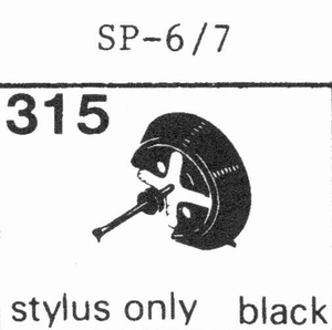 BANG & OLUFSEN SP-6/7 STY.ONL Stylus, SS<br />Price per piece