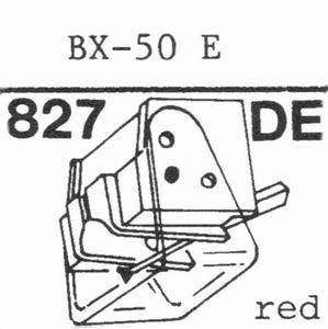 BELLEX BX-50 E Stylus, DE<br />Price per piece