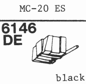 C.E.C. MC-20 ES(ELLIPT.) Stylus, DE