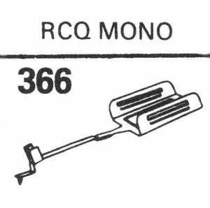 CONER RCQ-MONO 78 RPM DIAMOND Stylus, DN<br />Price per piece